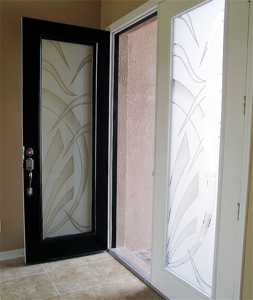 Deco Leaf - Door Insert