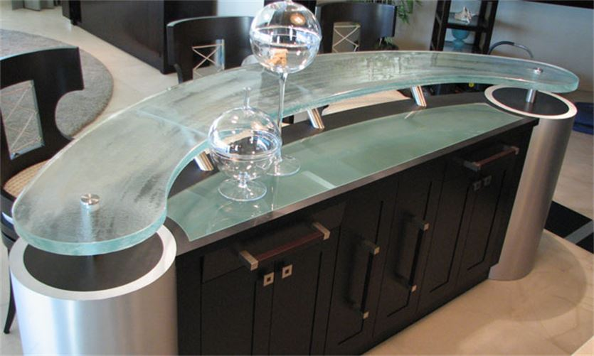 Wet Bar - Curved