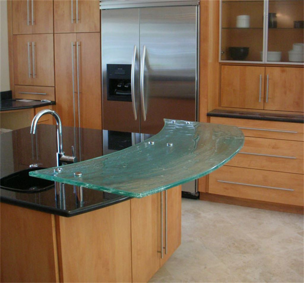 Breakfast Bar Curved Counter Tops Signature Art