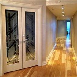 Double Door Art Deco Jeweled Doors Signature Art Glass By Design Orla