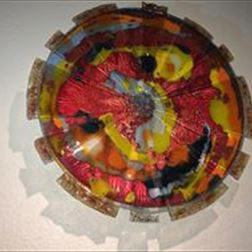 Sculpture - Glass Sun