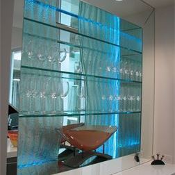Glass Panel - Bar Back