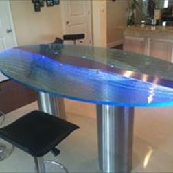 Table Top - Oval, Counter Hgt.