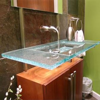 Vanity - Floating Wedge Sink