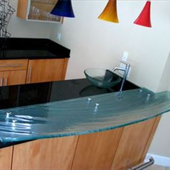Wet Bar - Bow Front