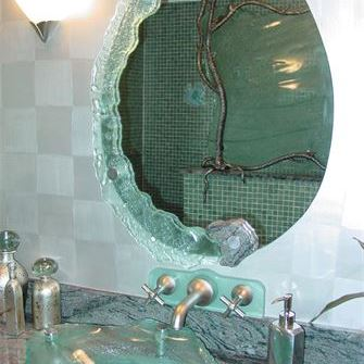 Vessel Sink - Organic w/ Mirror